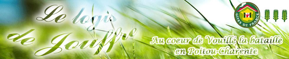 G�te de France � VOUILLE (86), gite rural, Le logis de Jouffre,